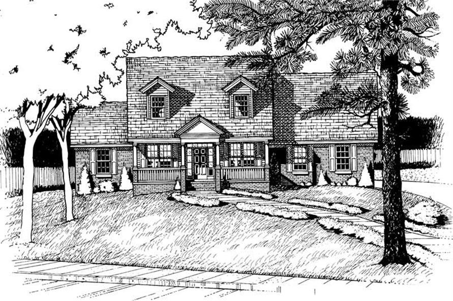 Main image for house plan # 6243
