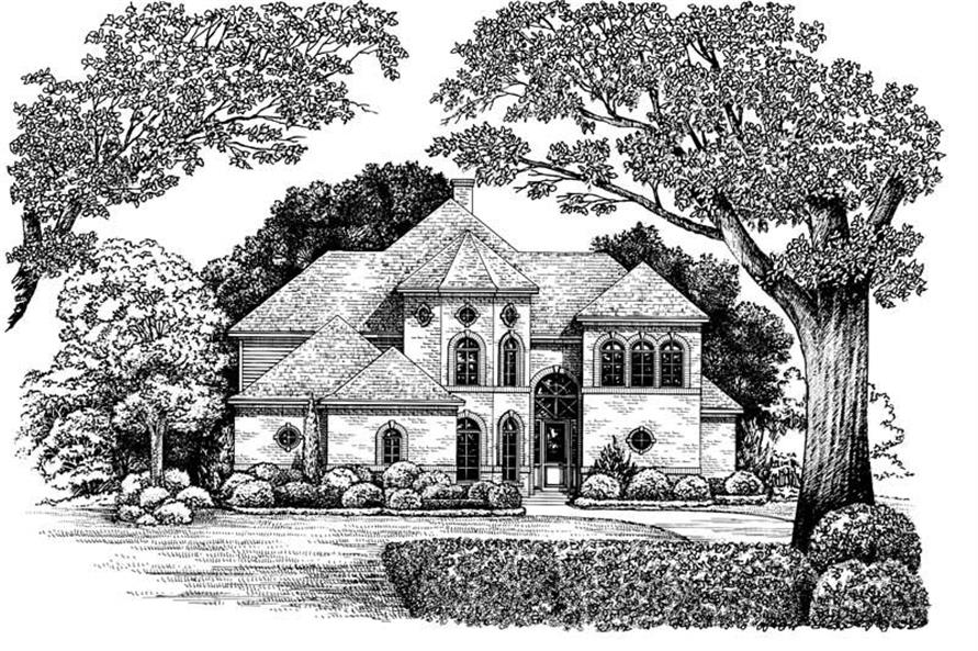 Main image for house plan # 6486