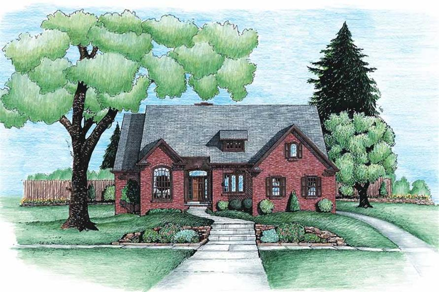 Main image for house plan # 6331