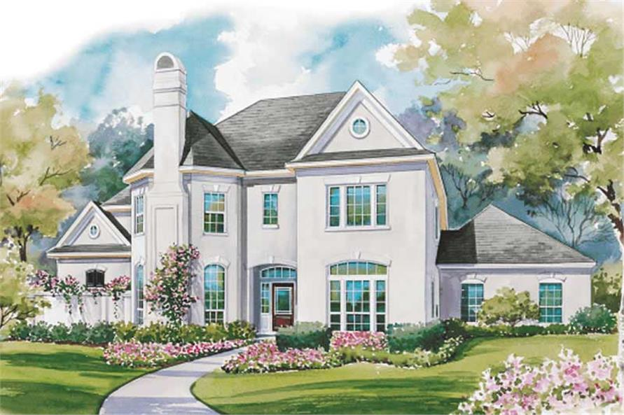 Main image for house plan # 6441