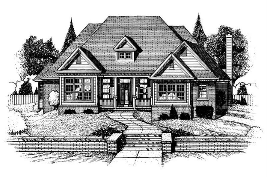 Main image for house plan # 6342