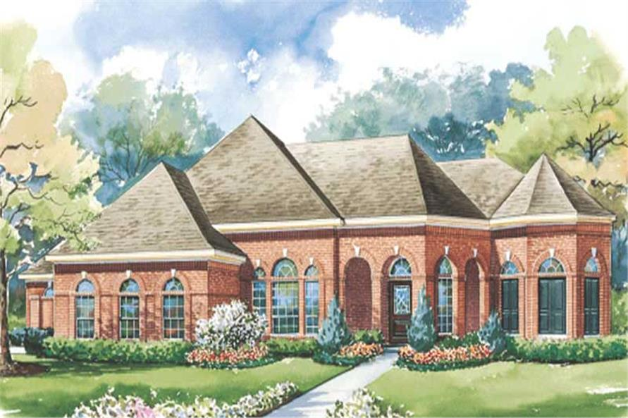 Main image for house plan # 6453