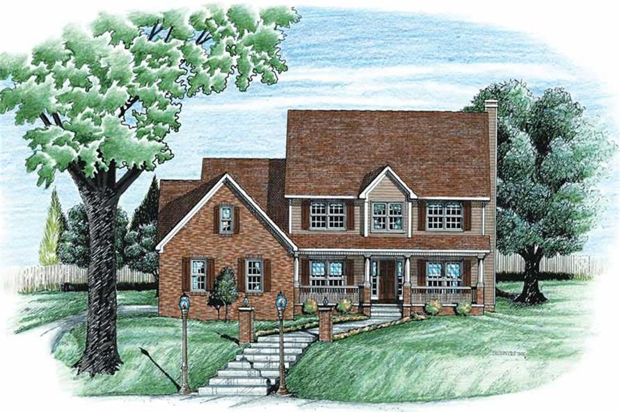 Main image for house plan # 6336