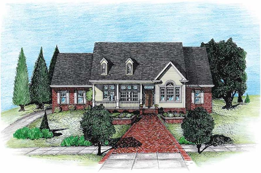 Main image for house plan # 6335