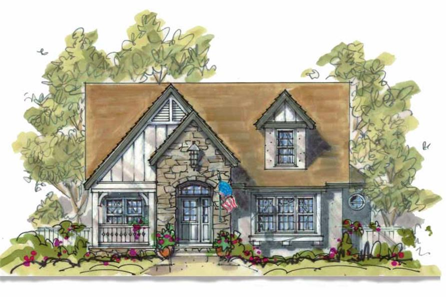 Main image for house plan # 6385
