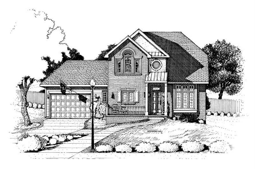 Main image for house plan # 6318