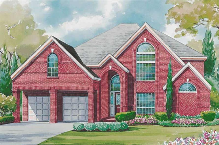 Main image for house plan # 6443