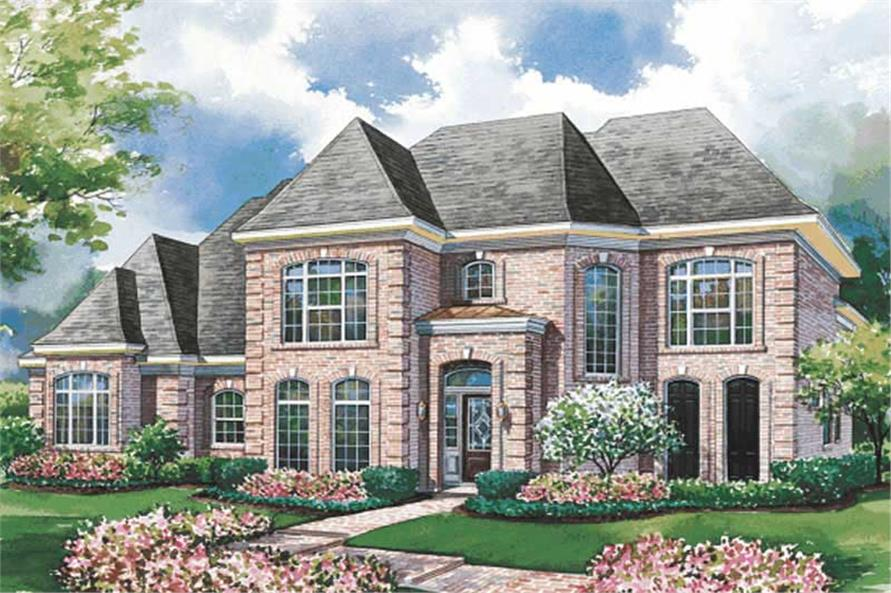 Main image for house plan # 6459