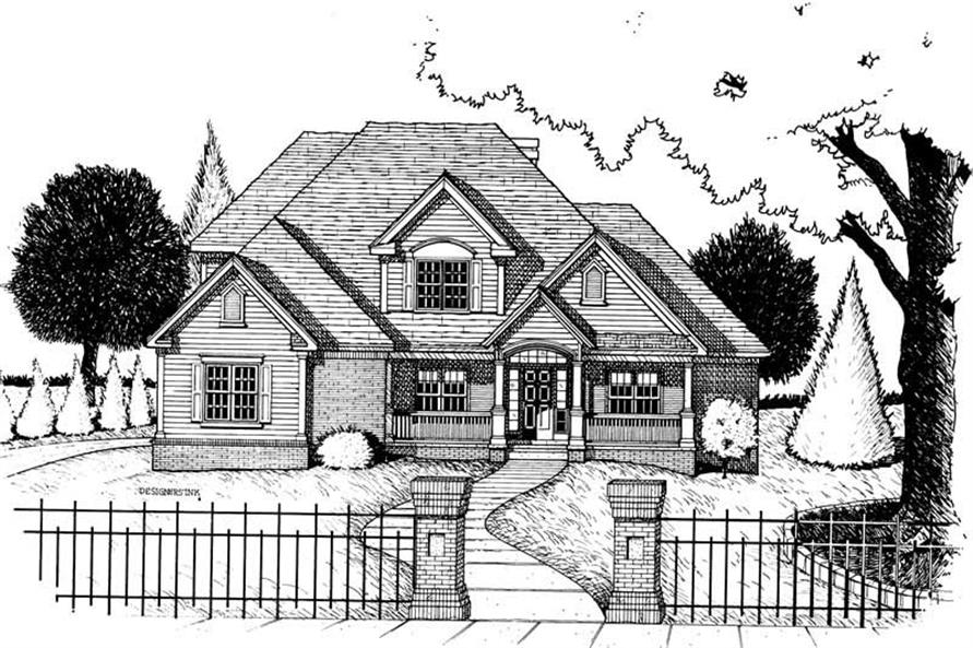 Main image for house plan # 6285