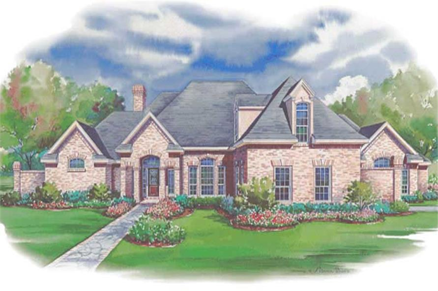 Main image for house plan # 6442