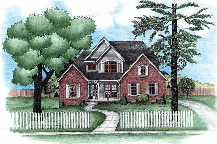 Main image for house plan # 6274