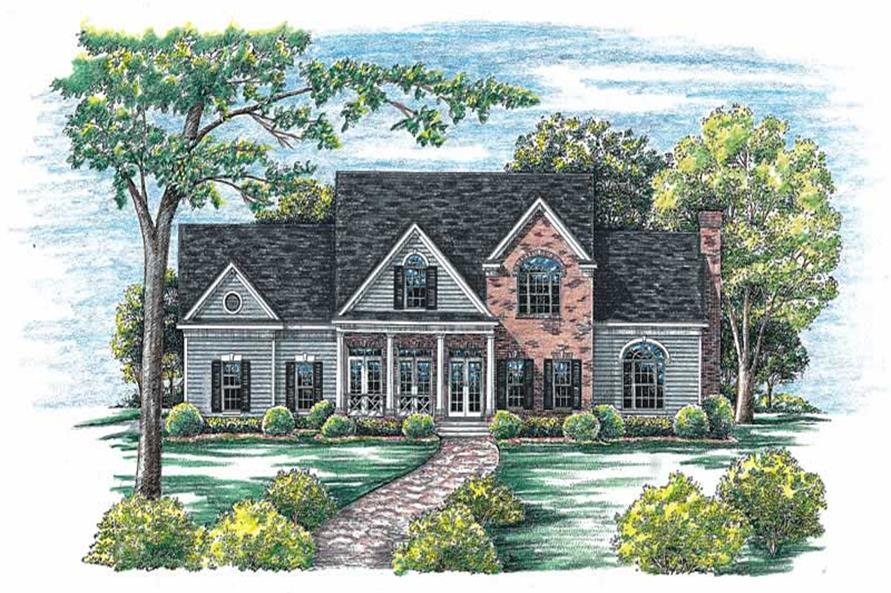 Main image for house plan # 6470