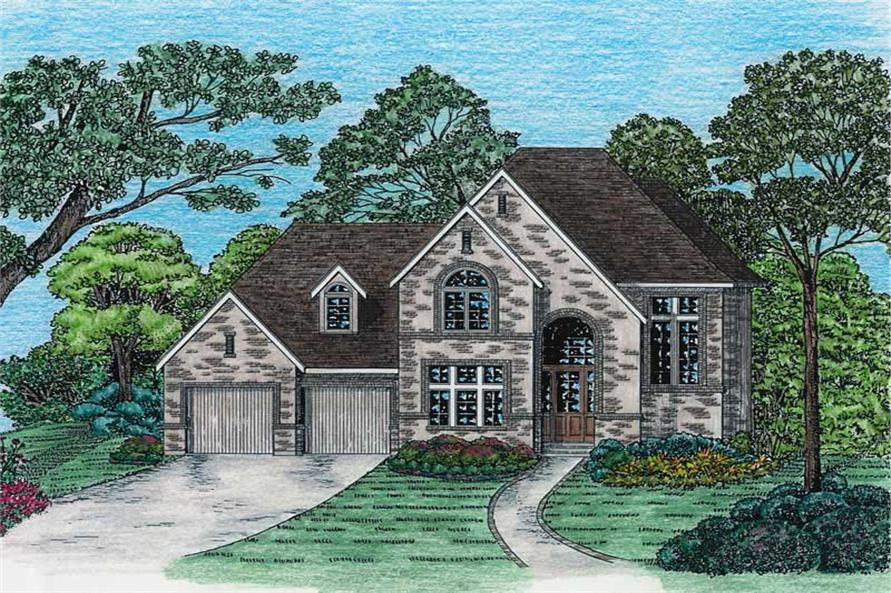 Main image for house plan # 6484