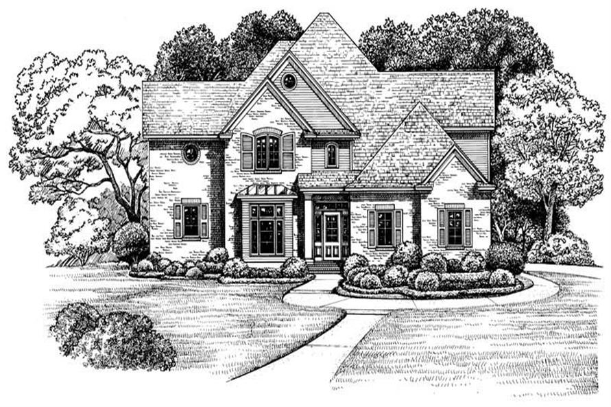 Main image for house plan # 6490