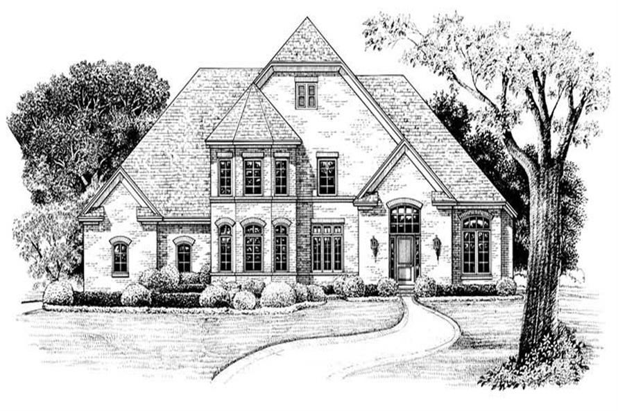 Main image for house plan # 6498