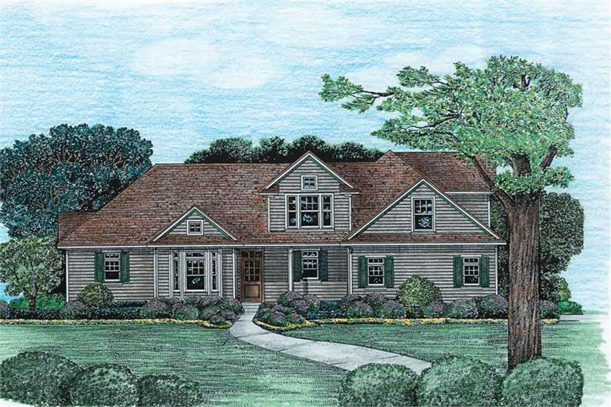 Main image for house plan # 6503