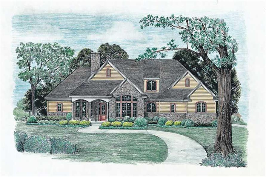 Main image for house plan # 6514