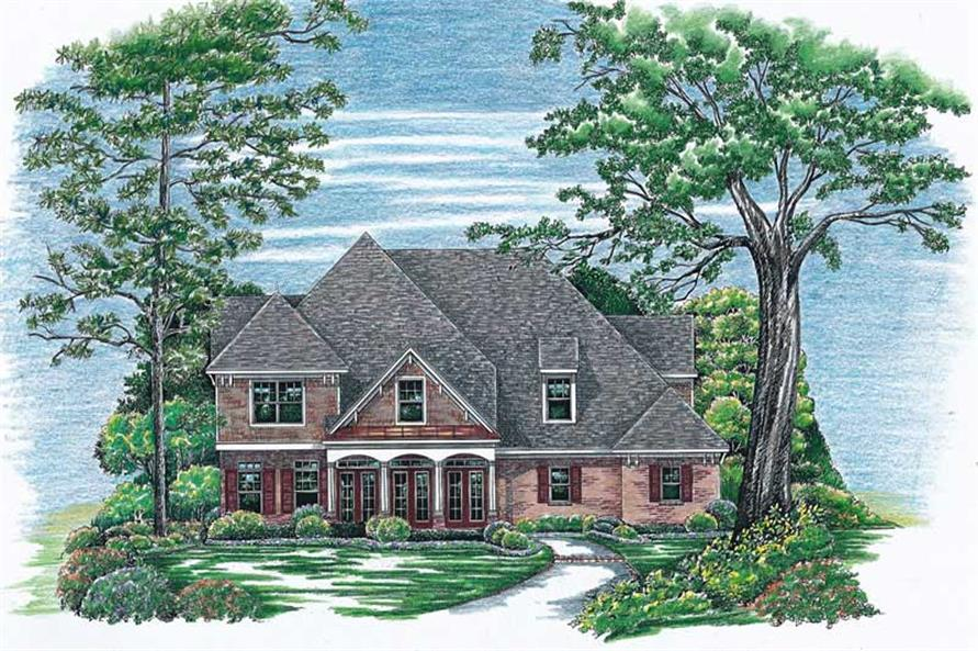 Main image for house plan # 6480