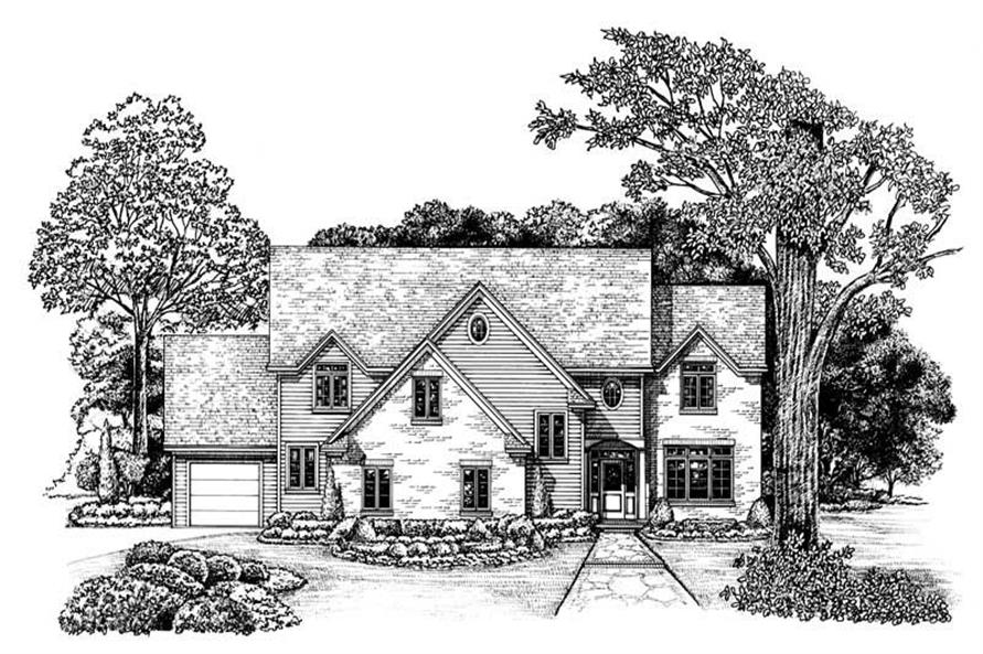 Main image for house plan # 6492