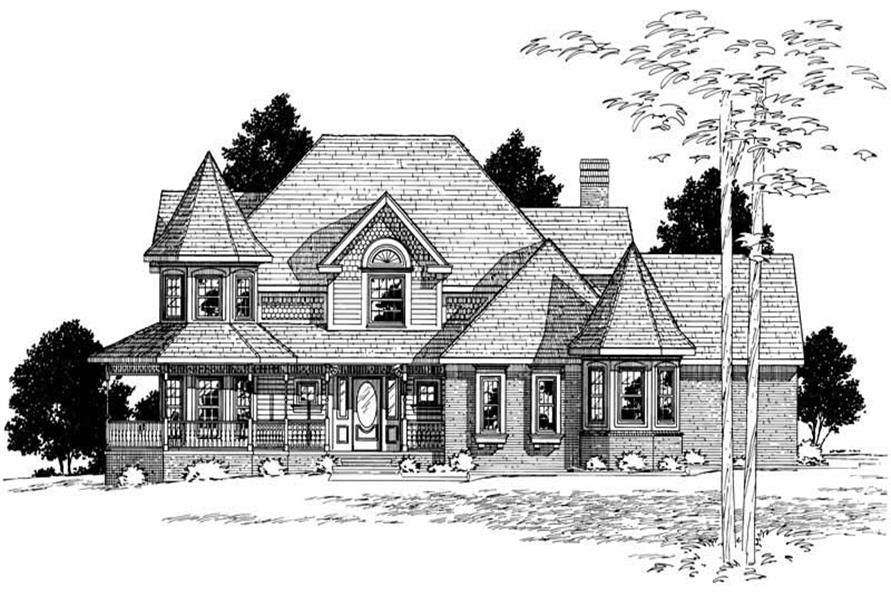 Main image for house plan # 6142