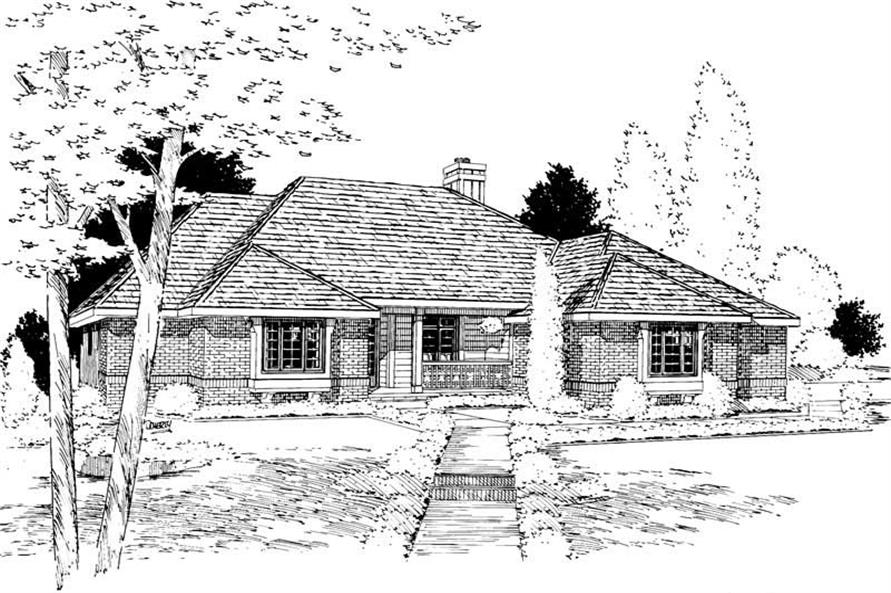 Main image for house plan # 5646