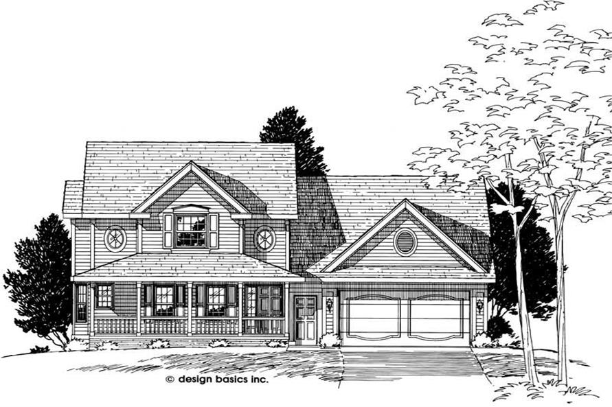Main image for house plan # 6162