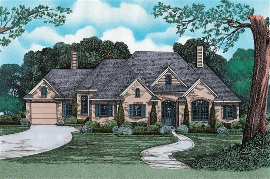 Main image for house plan # 6515