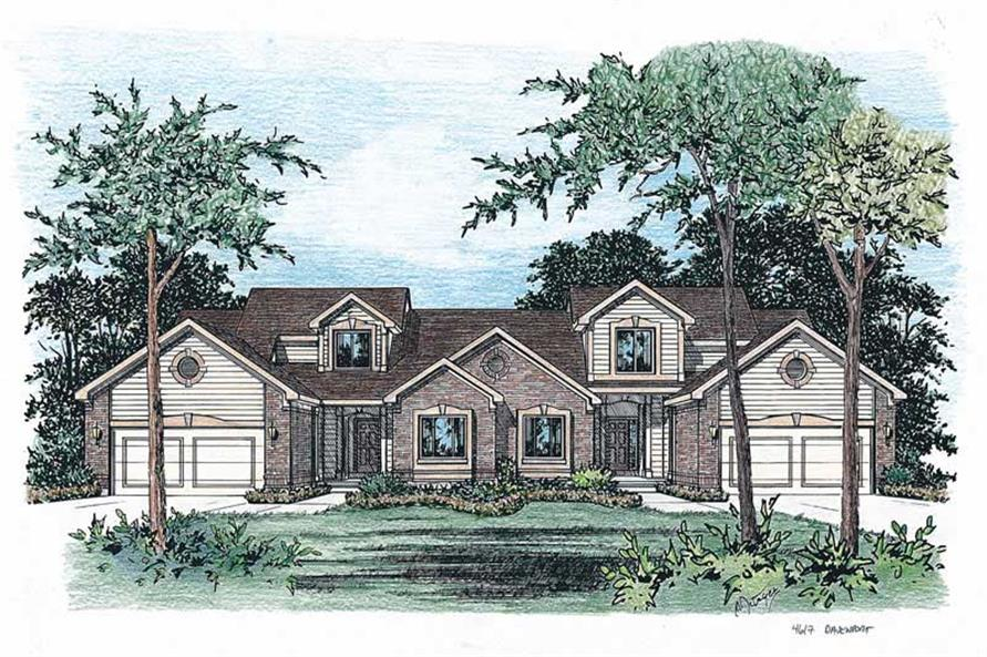Main image for house plan # 6217
