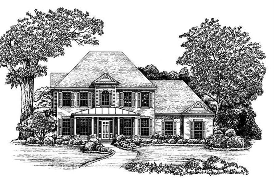 Main image for house plan # 6485