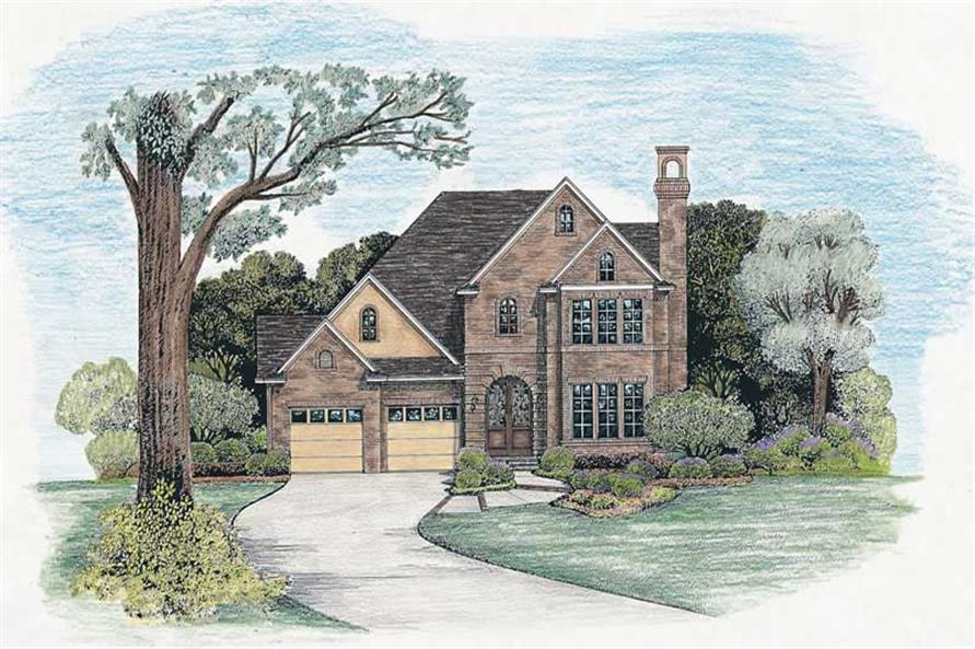 Main image for house plan # 6521