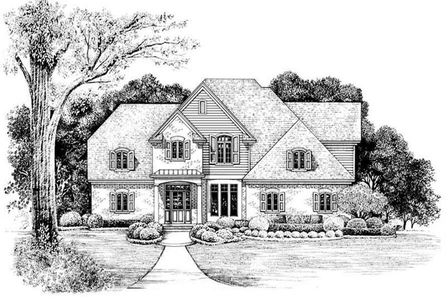 Main image for house plan # 6516