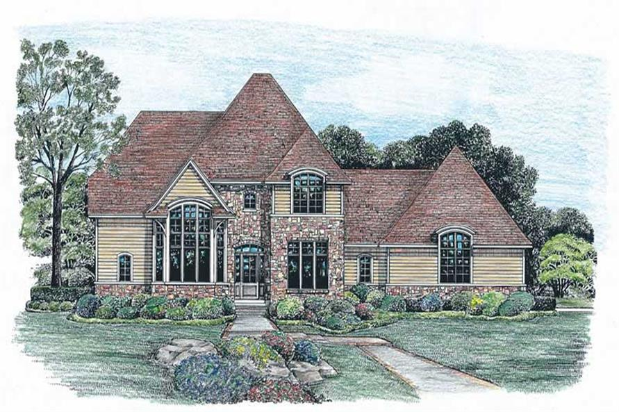 Main image for house plan # 6511