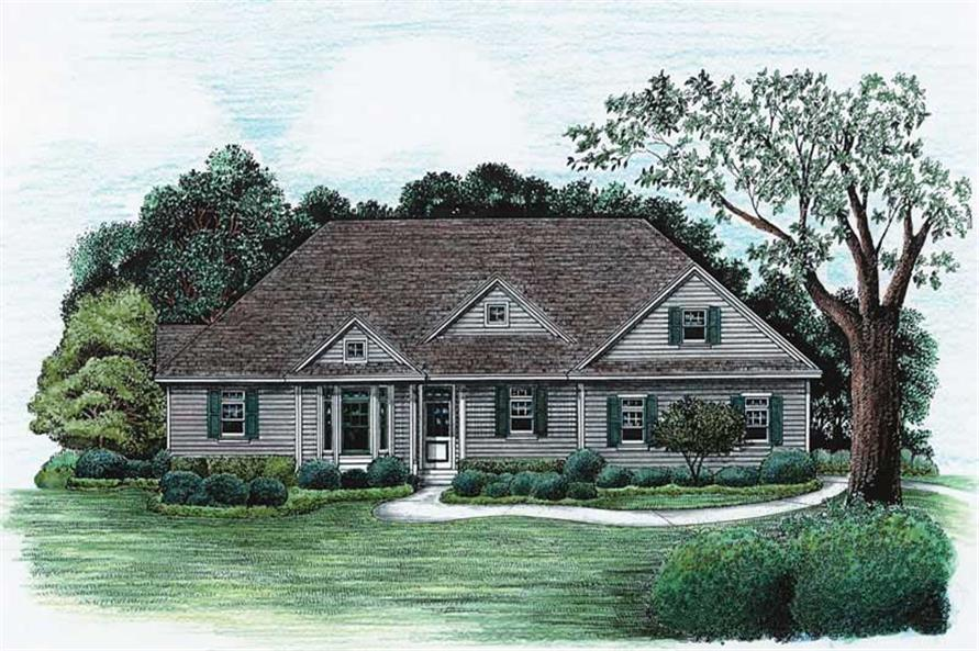 Main image for house plan # 6506