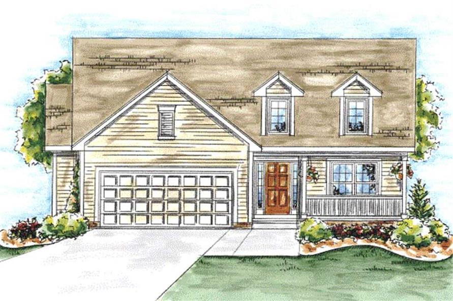 Main image for house plan # 11713
