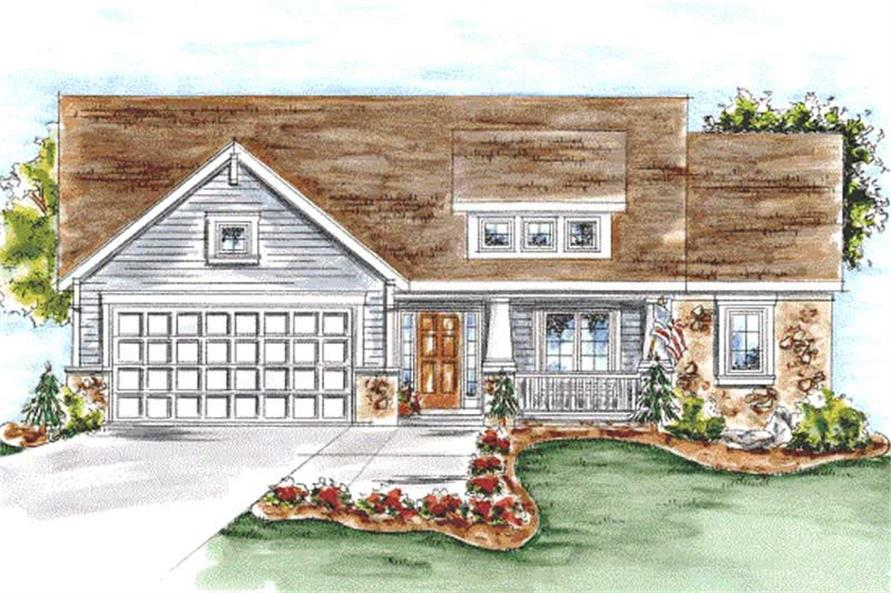 Main image for house plan # 11707