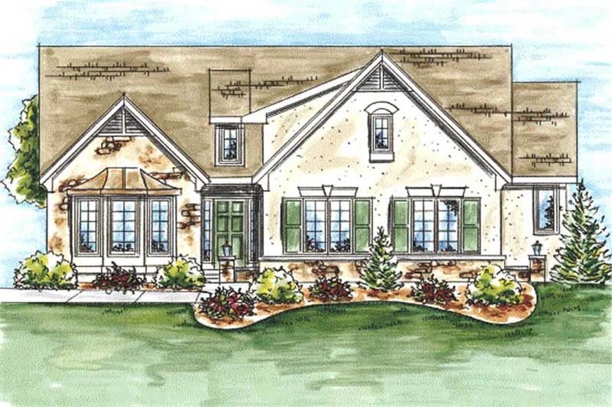 Main image for house plan # 11710