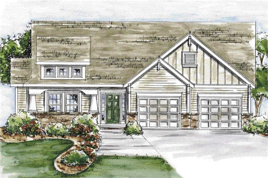 Main image for house plan # 11702