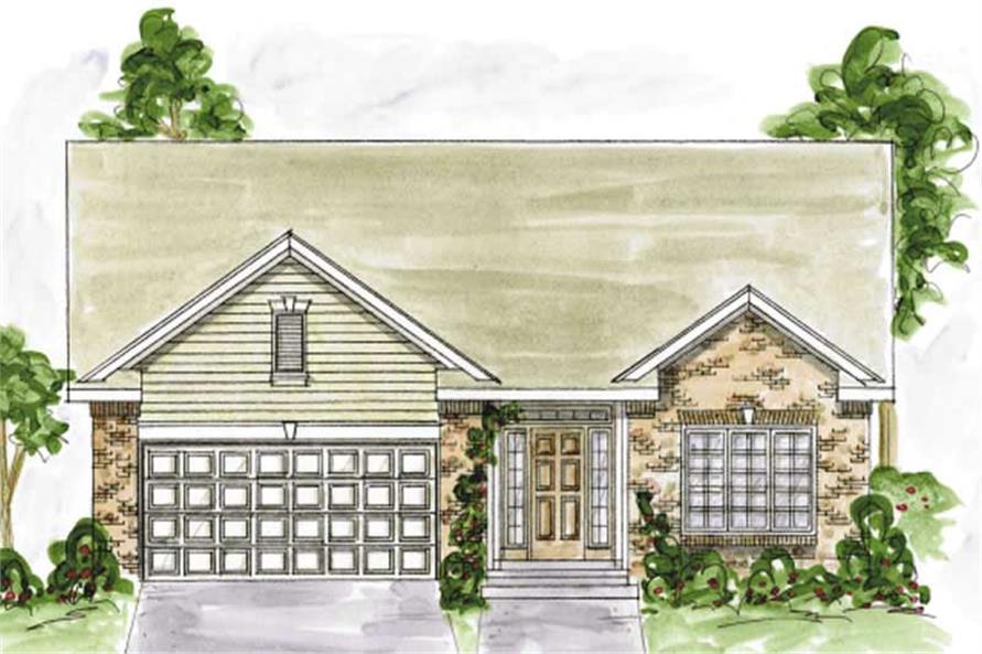 Main image for house plan # 11720