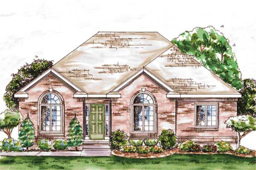 Main image for house plan # 11716