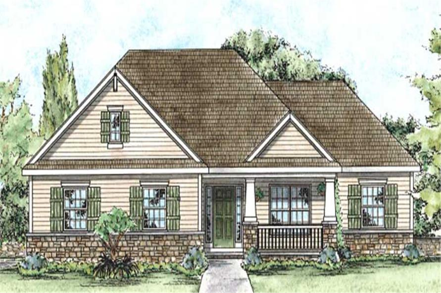 Main image for house plan # 11683