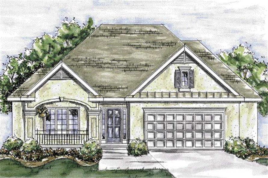 Main image for house plan # 11703