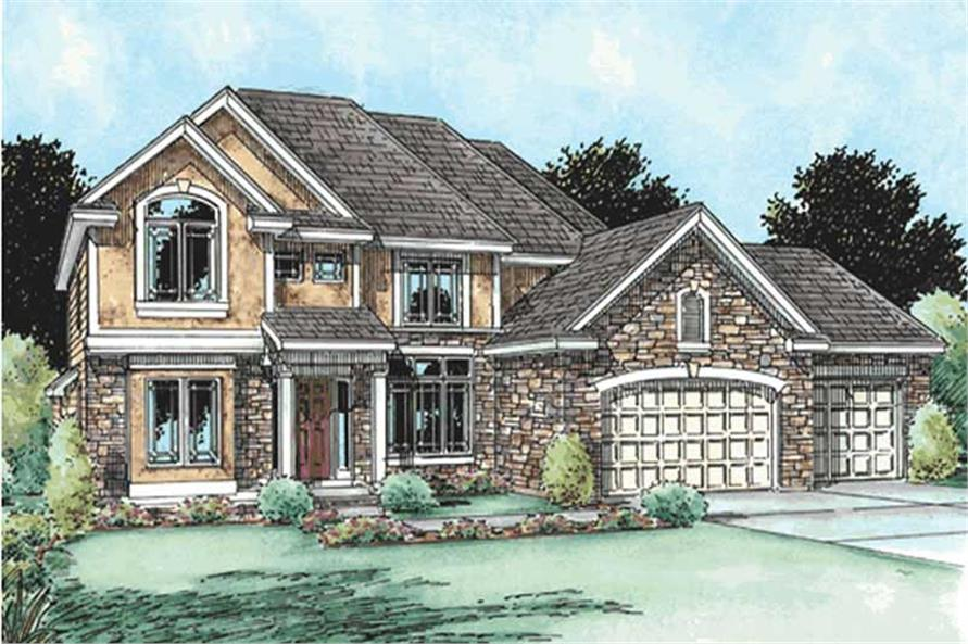 Main image for house plan # 11540