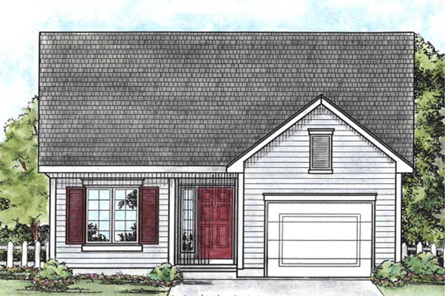 Main image for house plan # 11684