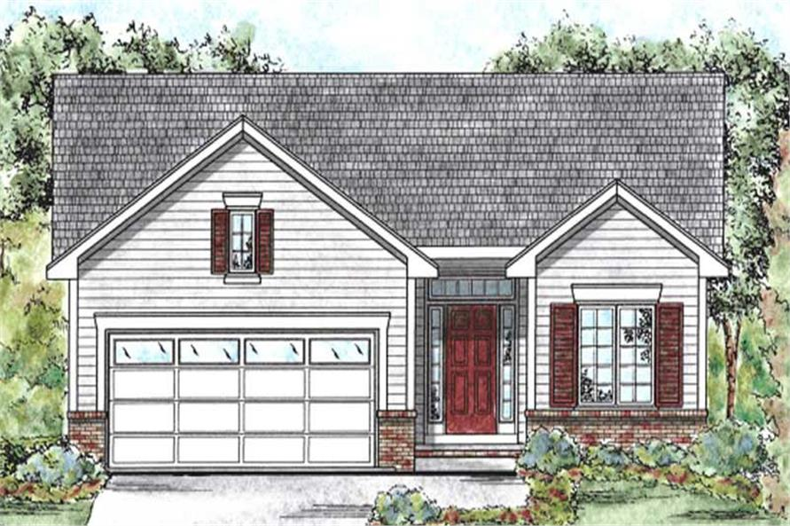 Main image for house plan # 11686
