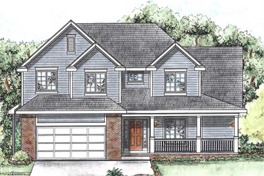 Main image for house plan # 11690