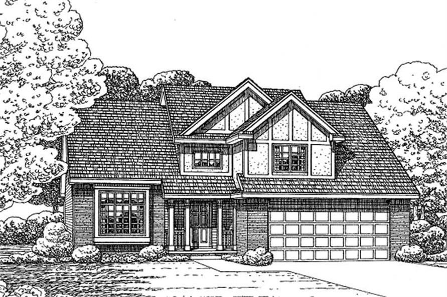 Main image for house plan # 11614