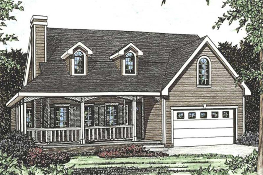 Main image for house plan # 11591