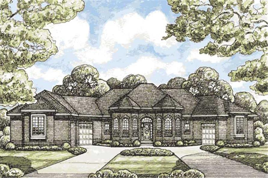 Main image for house plan # 11601