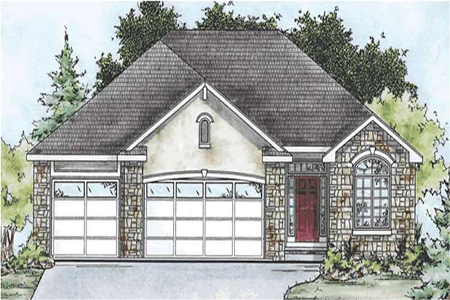 Main image for house plan # 11609