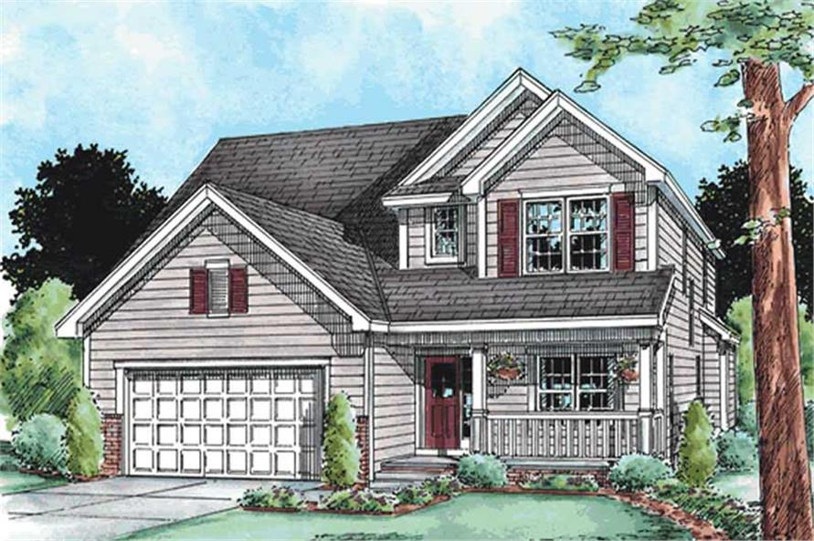 Main image for house plan # 11562